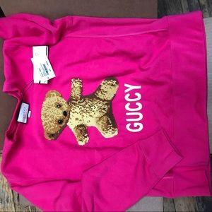 539b3cc96a8 Gucci Tops - Authentic NEVER WORN Gucci Teddy Bear Sweatshirt